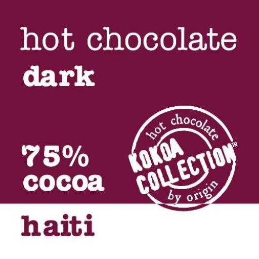 Kokoa Collection Haiti 75% Hot Chocolate - 1Kg