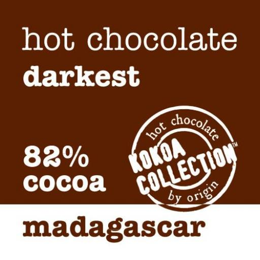 Kokoa Collection Madagascar 82% Hot Chocolate - 1kg