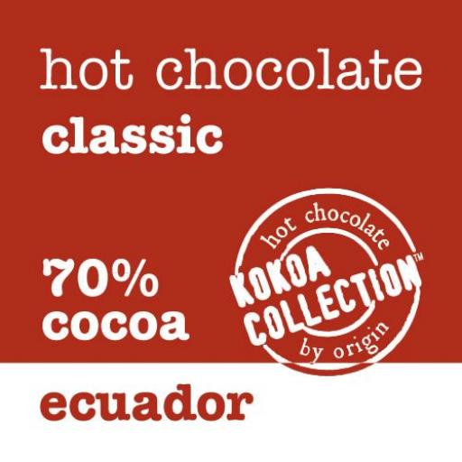 Kokoa Collection Ecuador 70% Hot Chocolate - 1kg