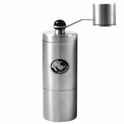 Rhinowares - Compact Hand Coffee Grinder - Designed For Aerobie Aeropress