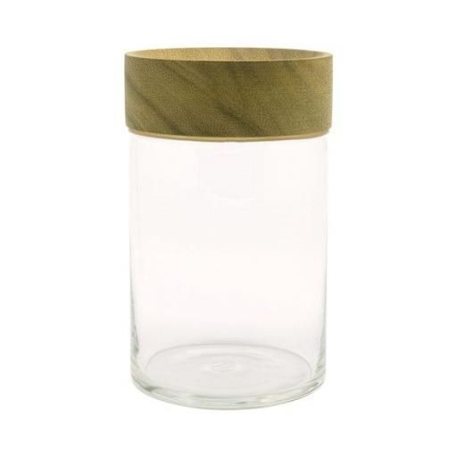 Chabatree Boaster Glass Storage Jar - 850ml